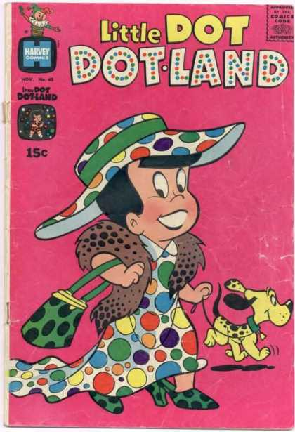 Little Dot Dotland 43 - Comics - Dog - Harvey - Code - Authority