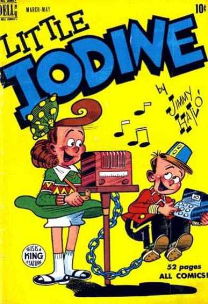 Little Iodine 1 - Jimmy Hatlo - King Features - Music And Money - Girls Rule - 52 Pages
