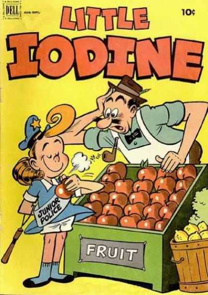 Little Iodine 13 - Apples - Fruit Stall - Junior Police - Shock - Pipe