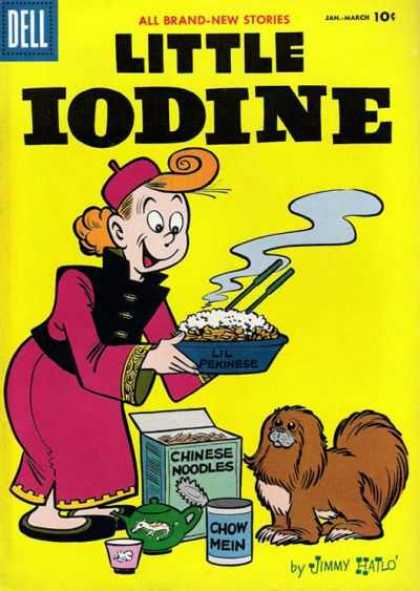 Little Iodine 35 - Brown Dog - Chinese Noodles - Lady - Glass - Smoke