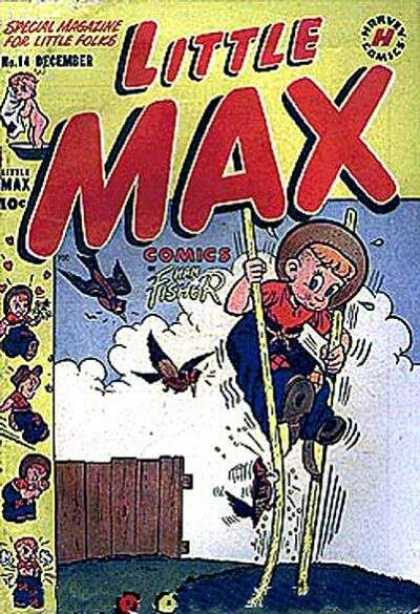 Little Max Comics 14 - Harvey Comics - December Issue No 114 - The Fisherman - Special Magazine For Little Folks - Stilts