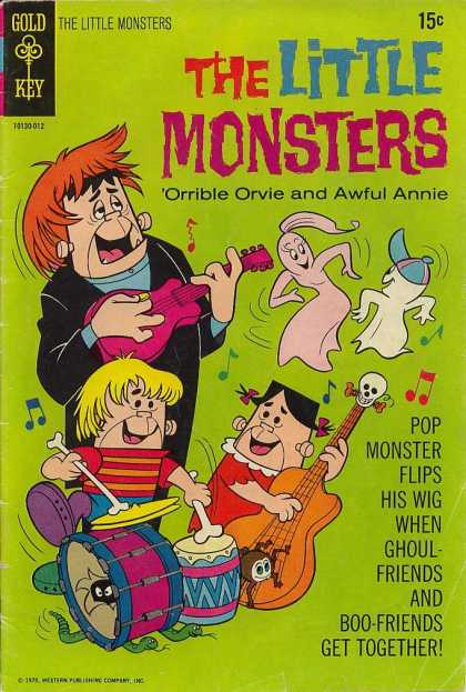 Little Monsters 12 - Gold Key - The Little Monsters - Orrible Orvie - Awful Annie - Boy Friends And Girl Friends Get Together