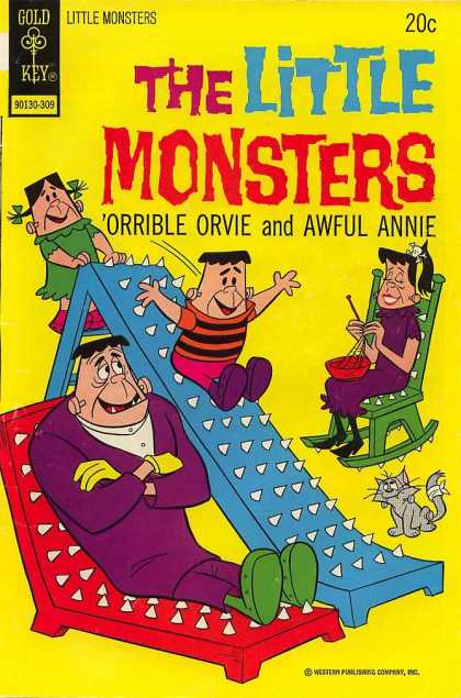 Little Monsters 22 - Gold Key - Monster Comics - Orville And Annie - Childrens Comics - Family Comics