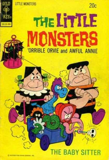 Little Monsters 25 - Orrible Orvie - Awful Annie - Dragon - Bat - Snake