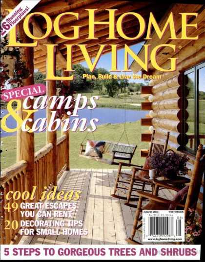 Log Home Living - August 2003