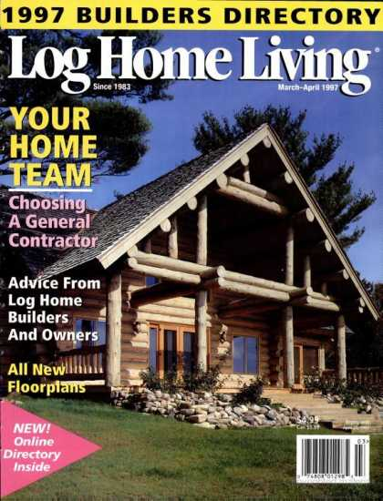Log Home Living - March 1997