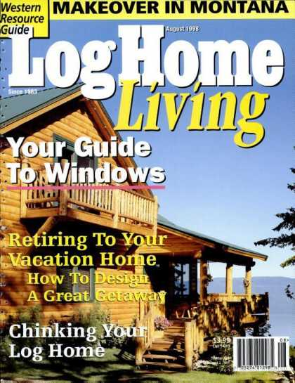 Log Home Living - August 1998