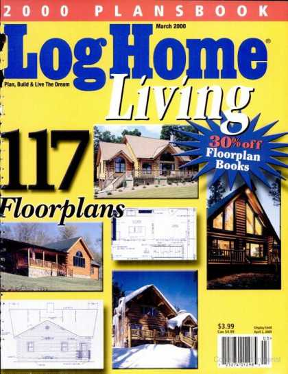 Log Home Living - March 2000