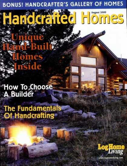 Log Home Living - August 2000