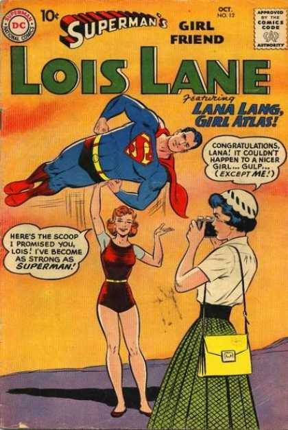 Lois Lane 12 - Woman As Strong As Superman - Lois Lane Is Jealous - News Scoop - Photograph - Girl Atlas
