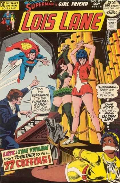 Lois Lane 122 - Music - One Note - Thorn - Funeral March - Captured