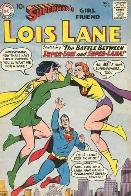 Lois Lane 21 - Superman - Smallville - Super Lana - Super Lois - Permanent