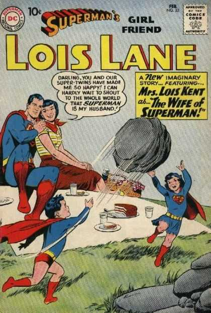 Lois Lane 23 - Imaginary Story - Super-twins - Wife - Husband - Picnic