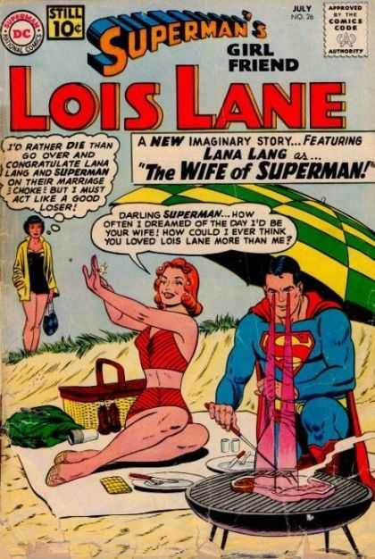 Lois Lane 26 - Dc - Dc Comics - Superman - Girl Friend - Lana Lang