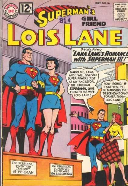 Lois Lane 36 - Lovers - Couple - Lana Langs Romance - Skirt - Heel