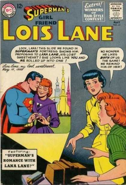 Lois Lane 41 - Superman - Girlfriend - Women - Lana Lane - Comics Code