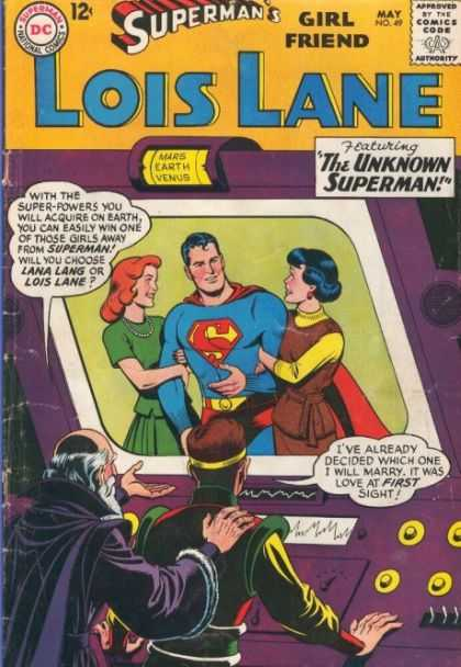 Lois Lane 49 - Lois Lande - Supermans Girlfriend - Featuring The Unknown Superman - May - Screen