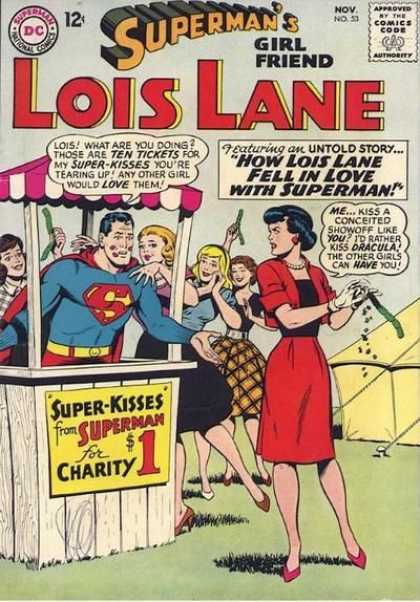 Lois Lane 53 - Kissing Booth - Tickets - Tent - Grass - Red Dress