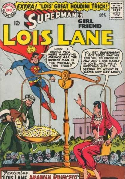 Lois Lane 58 - Superman - Prince Ali - Gems - Scale - Arabian Princess