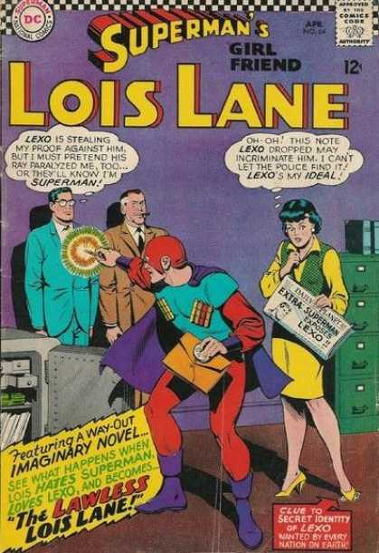 Lois Lane 64 - Lois Lane - Supermans Girlfriend - Lexo - Imaginary Novel - Dc Comics