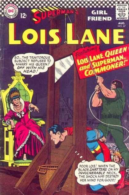 Lois Lane 67 - Superman - Rope - Queen - Chair - Mask