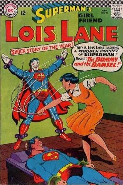 Lois Lane 73 - Dc - 12c - Aprno72 - Supermans Girls Friend - The Dummy U0026 The Damsel