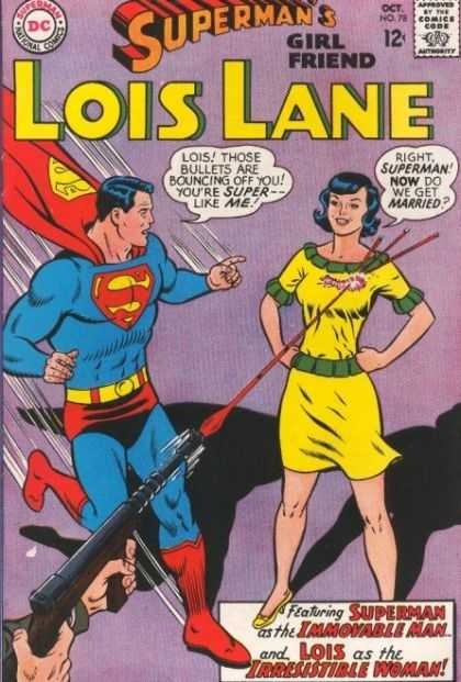 Lois Lane 78 - Superman - Lois Lane - Gun - Girl Friend - Gun Shot
