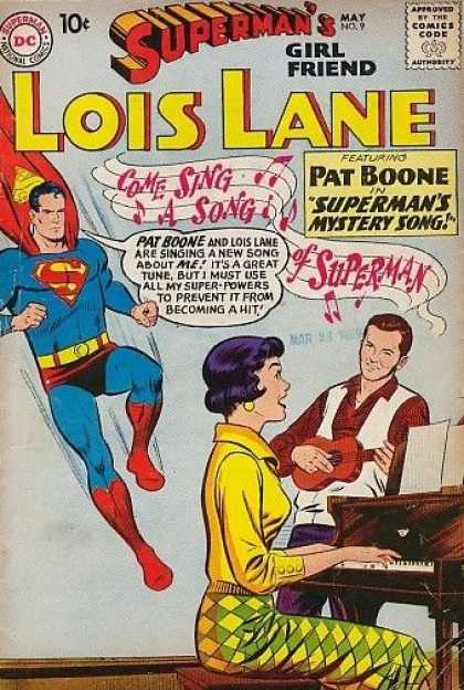 Lois Lane 9 - Blue Caper - Daily Chronicle - Big S - Girlfriend Of - Save