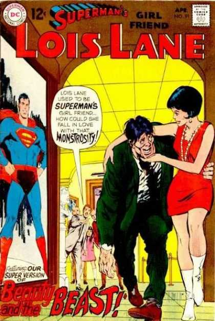 Lois Lane 91 - Monstrosity - Superman - Girlfriend - Beauty - Beast