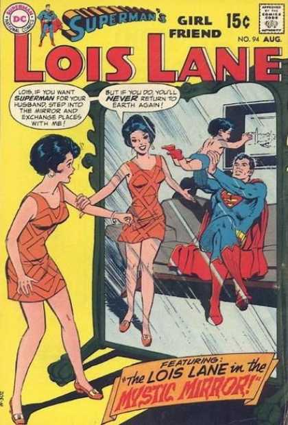 Lois Lane 94 - Supermans Girl Friend - Lois Lane - Mystic Mirror - Cute Baby - Pretty Woman