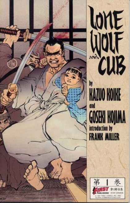 Lone Wolf and Cub 1 - Sword - Fight - Baby - Kazuo Koike - Frank Miller - Frank Miller