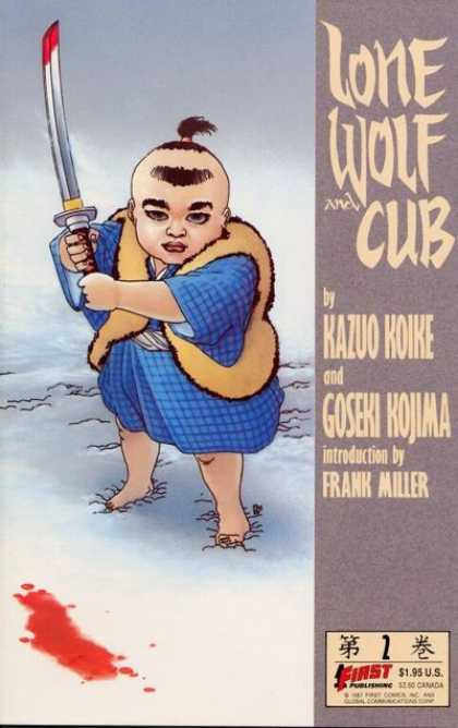 Lone Wolf and Cub 2 - Samurai - Sword - Boy - Blood - Cub - Frank Miller