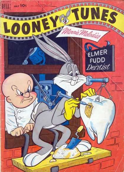 Looney Tunes 129 - Dell - Merrie Melodies - Elmer Fudd - Dentist - Tooth