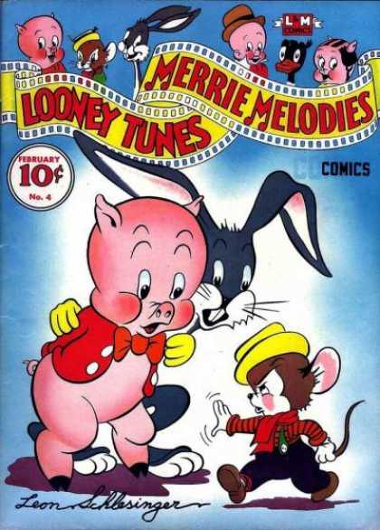 Looney Tunes 4 - Porky Pig - Merrie Melodies - Animated Cartoons - Funny Animals - Sylvester
