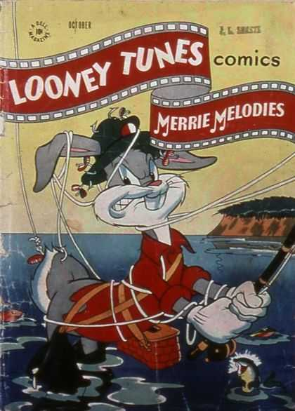 Looney Tunes 60 - Bugs Bunny - Fishing - Tangled - Hook - Merrie Melodies