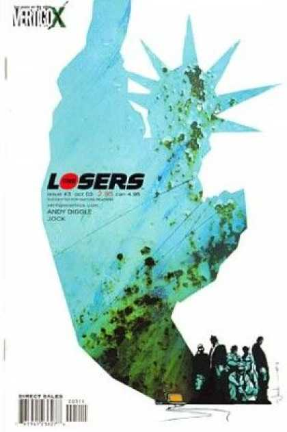 Losers 3 - Statue Of Liberty - Background - Andy Diggle - Jock - Group - Mark Simpson