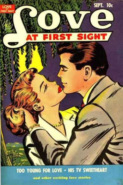 Love At First Sight 11 - Too Young For Love - His Tv Sweetheart - Sept10c - End Other Exciting Love Stories - Gold Watch