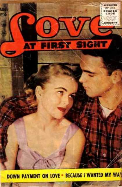 Love At First Sight 36 - Love - Couple - Lumberjack - Barn - Romance