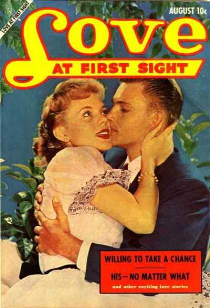 Love At First Sight 8 - Boy - Girl - Kissing - Take A Chance - August