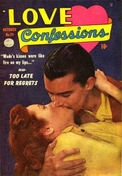 Love Confessions 24 - Tawdry - Kiss - Woman - Man - Love