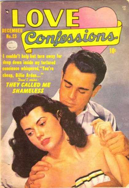 Love Confessions 25 - Heart - The Look Of Love - Anguish - Lust - Desperation