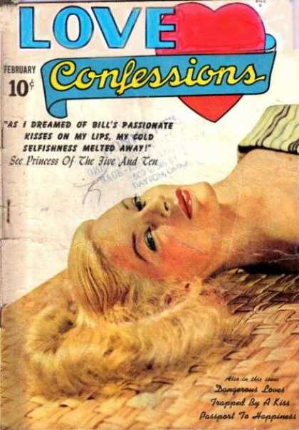 Love Confessions 3 - Lady - Laydown - Face - Hair - Beautiful