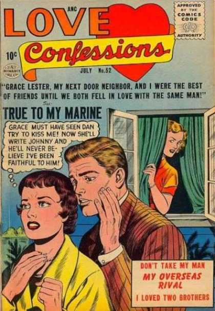 Love Confessions 52 - True To My Marine - Grace Must Have Seen Dan Try To Kiss Me - My Overseas Rival - I Loved Two Brothers - Fell In Love With The Same Man