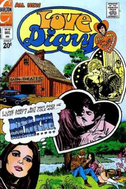 Love Diary 81 - Barn - Theater - Aaron - Kissing - Cole