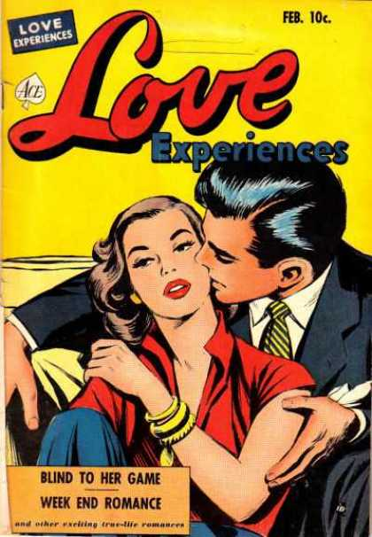 Love Experience 11 - Red Lipstick - Blind To Her Game - Week End Romance - Tie - Gold Bracelets