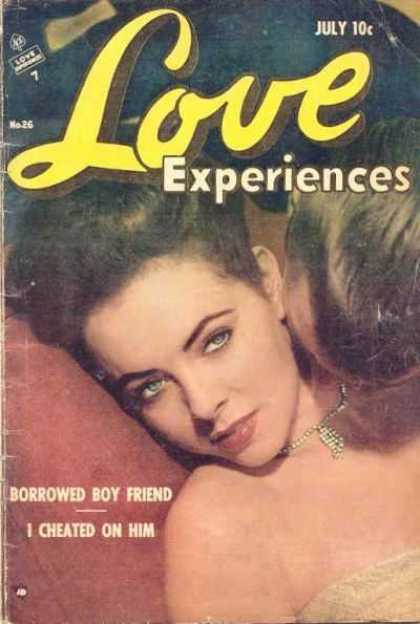 Love Experience 26 - Woman Being Kissed - Necklace - Borrowed Boy Friend - I Cheated On Him - Woman Reclining