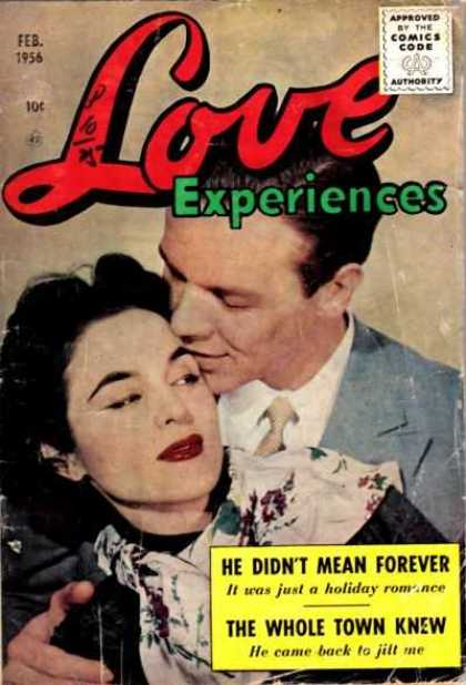 Love Experience 36 - Man - Woman - Embrace - Thick Eyebrows - Dark Lipstick