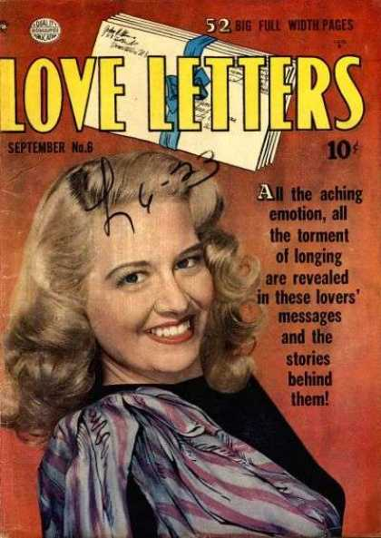 Love Letters 6 - Woman - Smile - Laid Back - Blonde - Well-dressed