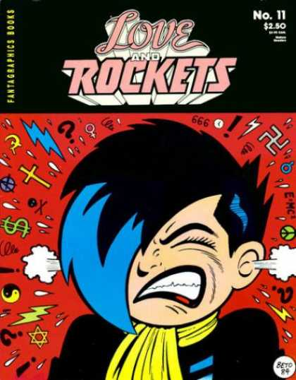 Love & Rockets 11 - Face - Girl - Signs - No11 - Fantagraphics Books