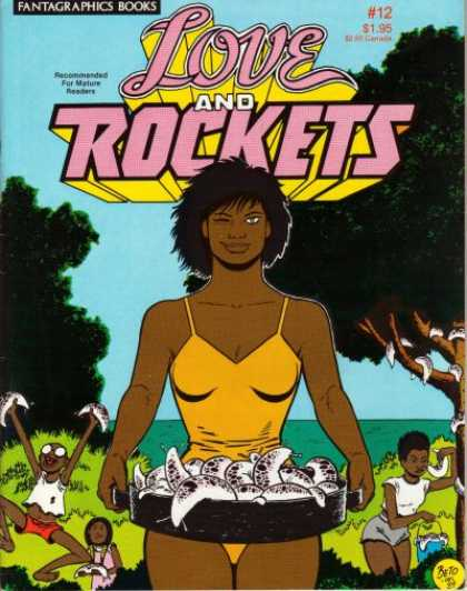 Love & Rockets 12 - Romance - Fish - Kids - Trees - Bathingsuit